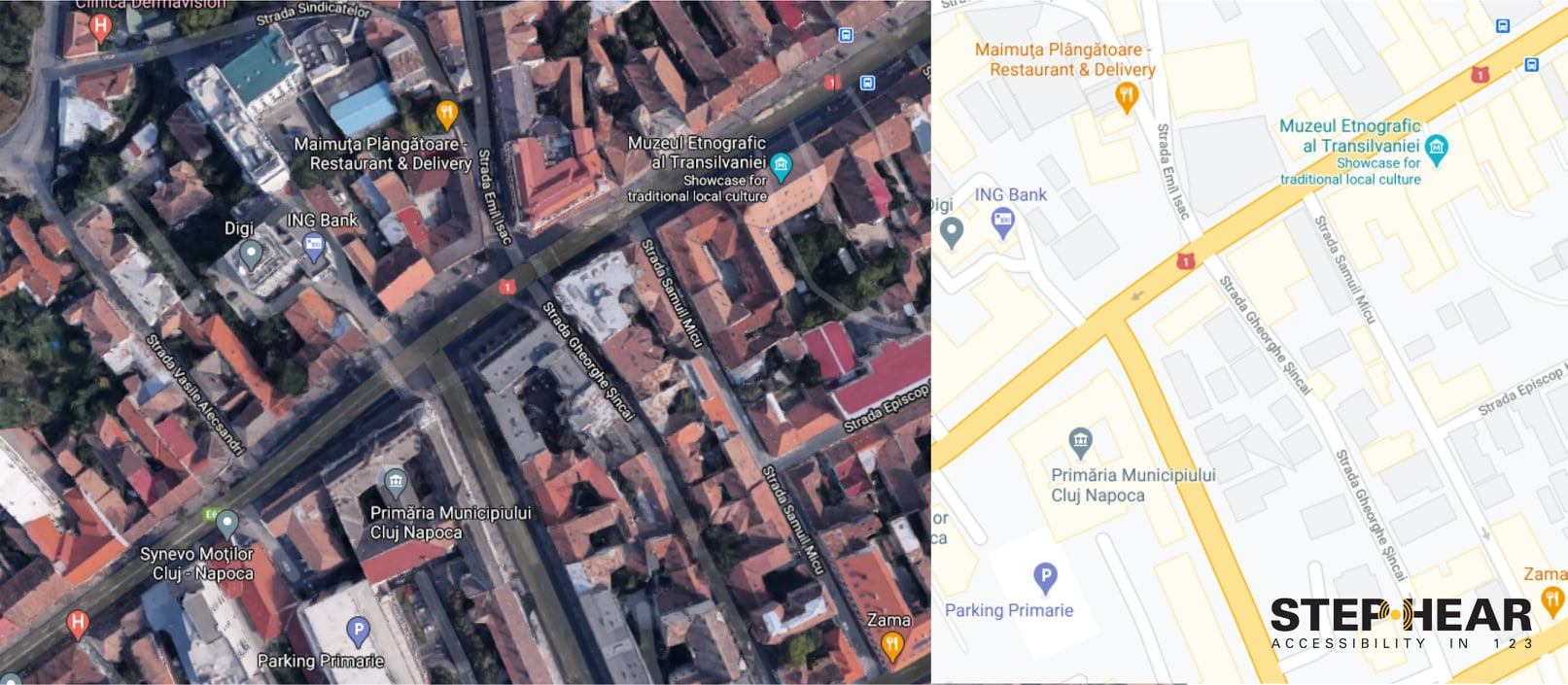 Testează STEP-HEAR în Cluj-Napoca
