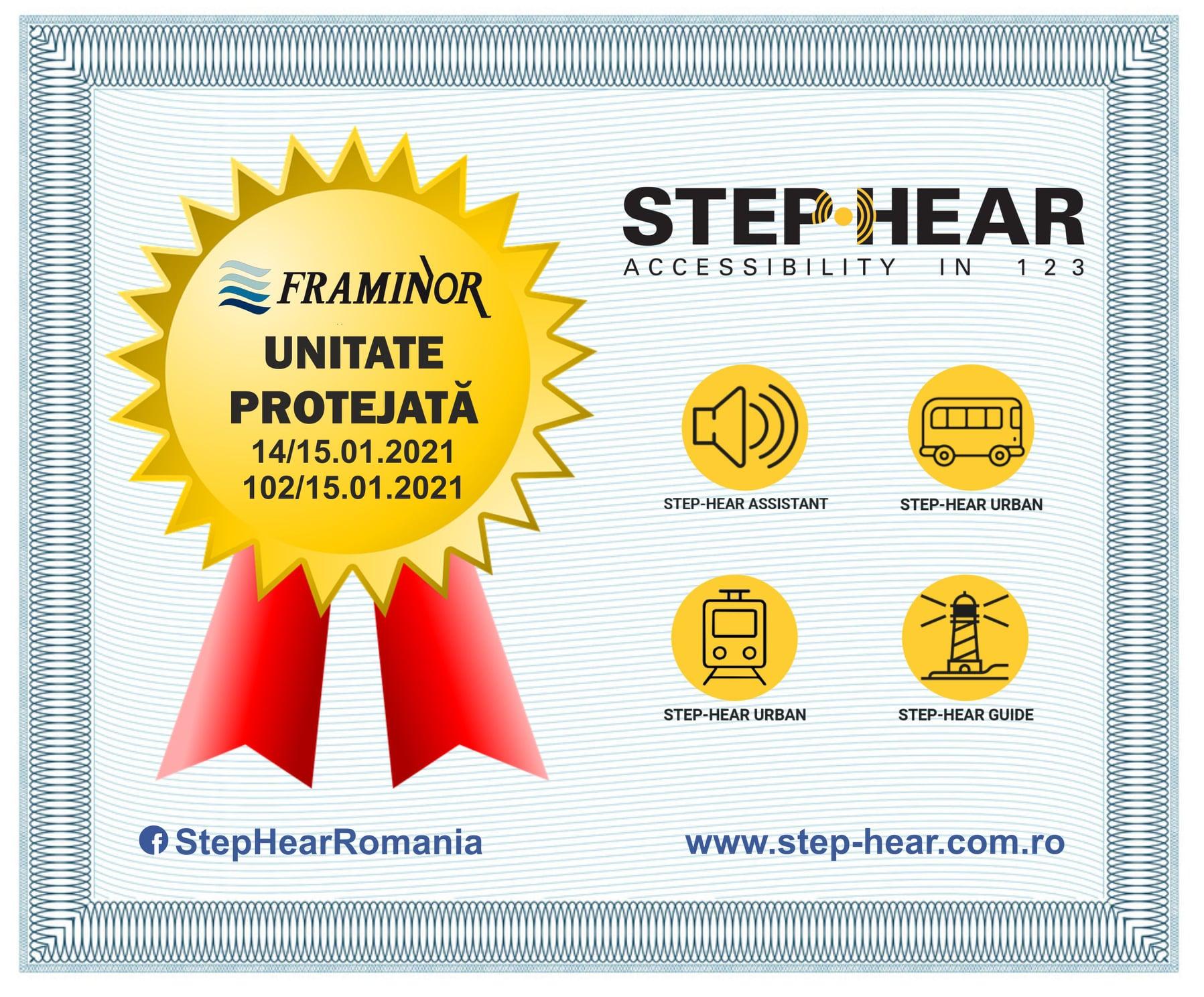 STEP-HEAR este unitate protejata
